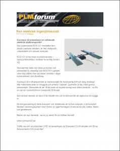PLM Forum, nättidning, 23 okt. 2012