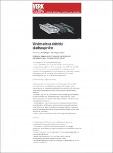 Verkstäderna, nättidning, 28 aug. 2014